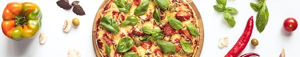 Pizza ohne Mozzarella,  Ø 35cm